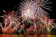 В этом году в Монако - финал конкурса фейерверков.  // monaco-feuxdartifice.mc