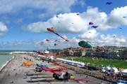 Фестиваль воздушных змеев // dieppe-cerf-volant.org