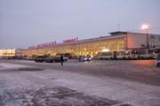 Автобусы у терминалов Шереметьево // Travel.ru