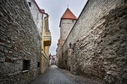 По средневековым стенам пройдут музыканты.  // Anna Grigorjeva, Shutterstock.com