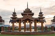Отель Kempinski Nay Pyi Taw оформлен в традиционном бирманском стиле. // kempinski.com