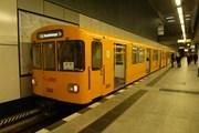 Поезд метро в Берлине // Travel.ru