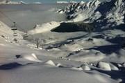 В Вербье достаточно снега.