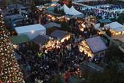 Рождественский рынок в Мюнхенском аэропорту