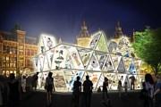 В самое темное время года Амстердам будет сиять разноцветными огнями. // amsterdamlightfestival.com