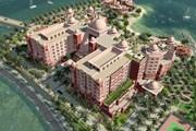 Гостиница занимает целый остров.