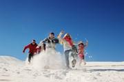 Больше всего снега - в Швейцарии.  // dotshock, Shutterstock.com