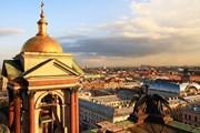 Вид на Санкт-Петербург с колоннады Исаакиевского собора. // Liudmila Ermolenko, shutterstock