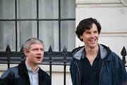 Бенедикт Камбербэтч в роли Шерлока Холмса.  // Saschaporsche, Wikipedia