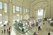 Проект обновленной Galleria delle carrozze // repubblica.it