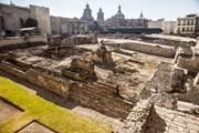 Templo Mayor - уникальный исторический комплекс.  // 123455543, Shutterstock.com