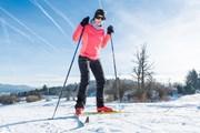 Равнинные лыжи сжигают больше калорий.  // Anze Bizjan, Shutterstock.com