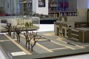 В музее представлены интересные макеты.  // arhitektuurimuuseum.ee