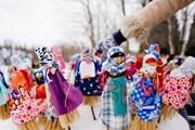 Множество праздничных площадок организовано на Масленицу в Псковской области. // pskov.ru