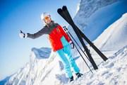 В Шерегеше достаточно снега.  // IM photo, Shutterstock.com