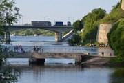Погранпереход Narva-2 доступен только пешеходам. // tervist.ru