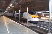 Поезд Eurostar на лондонском вокзале // Travel.ru