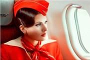"""""""Аэрофлот"""" - в тройке лидеров рейтинга привлекательности стюардесс."""
