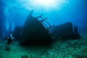 Туристам покажут затонувшие корабли.  // Claudio Dias, Shutterstock.com