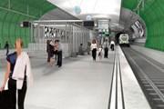 Проектный вид аэропортовой станции в Хельсинки // finavia.fi