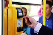 Терминал оплаты картами в автобусе // avtobus.spb.ru