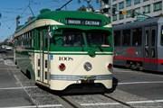 Исторический трамвай в Сан-Франциско // sfmta.com