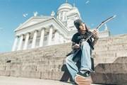 Алекси Лайхо соберет музыкантов на Сенатской площади. // helsinginjuhlaviikot.fi