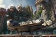 Эскиз декораций к аттракционам, которые появятся уже в этом году. // Disney/Lucasfilm