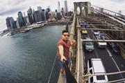 Снимок на Бруклинском мосту стал для туриста роковым. // wrcbtv.com