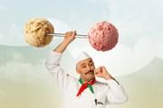За 7 евро на фестивале можно съесть шесть порций мороженого.