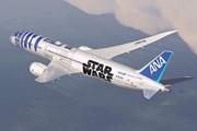 Boeing 787 в ливрее Star Wars // ana.co.jp