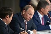 Владимир Путин на заседании президиума государственного совета, посвященного туризму
