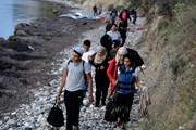 Эти беженцы прибыли на остров Лесбос. // wsimag.com
