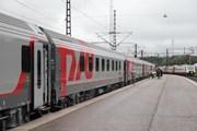 Поезд РЖД на вокзале Хельсинки // rzd.ru