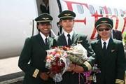 Женщины-пилоты авиакомпании Ethiopian Airlines  // ebc.et