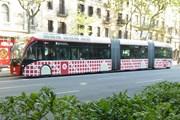 Автобус линии H12 в Барселоне // Юрий Плохотниченко