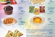 Фрагмент платного меню UTair // utair.ru