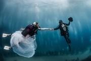 Подводная церемония - новое слово в европейском свадебном туризме. // pierrefrolla.com