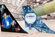 Примеры раскрасок с <u>раскраски лайнеров</u> помощью прямой печати // airbus.com