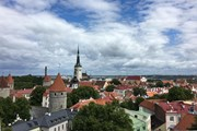 Вид на старый Таллин. // Travel.ru