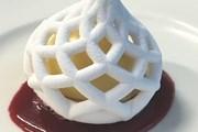 Ресторан, где все напечатано на 3D-принтере, путешествует по миру. // Food Ink.