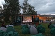 Кинотеатр под открытым небом Кинопорт DME  // Аэропорт Домодедово