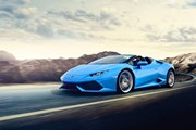 Lamborghini Huracán LP 610-4 Spyder - к услугам гостей отелей Waldorf Astoria. // lambonb.com