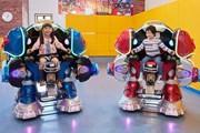 В тематическом парке Robot Kingdom - множество развлечений. // visitjapan.ru