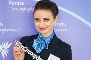 """Анна Гурина - победительница в направлении """"Линейная авиация"""". // topstewardess.com"""