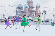 ГУМ-каток открывается десятый год подряд. // gum.ru