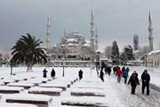 Снег в Стамбуле // Al Arabiya