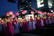 Парад фонариков во время праздника Соллаль // comboasiatours.com
