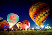 Ночное шоу аэростатов Night Glow // thaitravelblogs.com