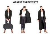 Пальто превращается в куртку+сумку. // kickstarter.com